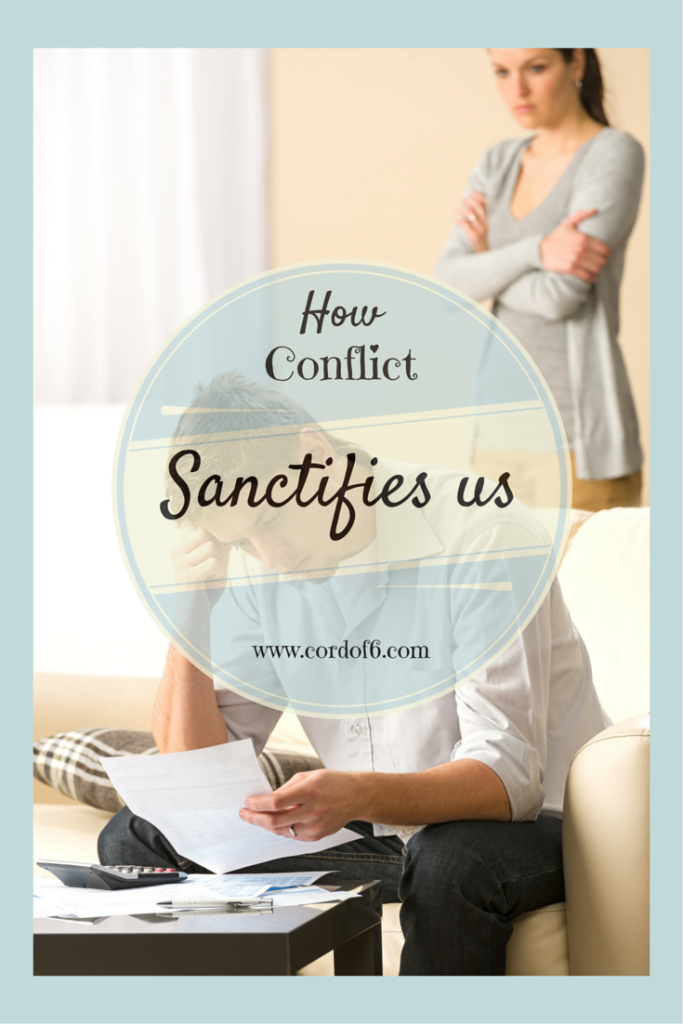 Even the strongest marriages have disagreements. Learn how we are stretched and sanctified through conflict.