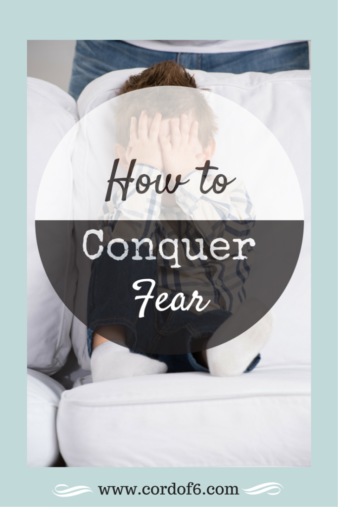 "Learn to conquer fear by turning your ""what ifs"" to ""even ifs"""