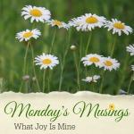 Mondays Musings Link-up