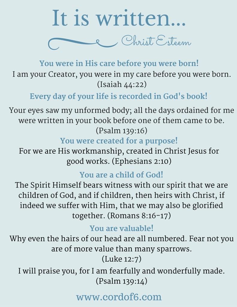 It is Written (Christ Esteem)