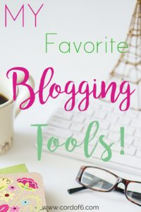 Would you like to start a blog? Here are some of my favorite bogging tools!