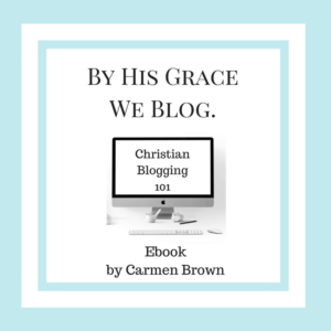 Christian Blogging 101