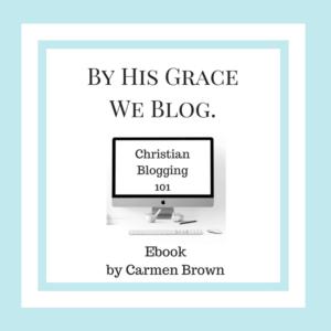 Christian Blogging 101