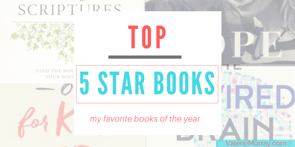 Top 5 Star Books: My Favorite Books of the Year