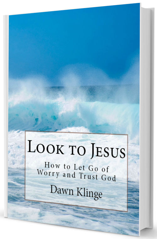Look to Jesus by Dawn Klinge will help you understand why you can trust in God even when life doesn't make sense.