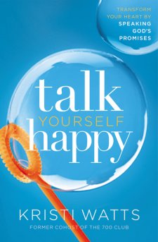 In Talk Yourself Happy, Kristi Watts learns to let the truth of God's promises transform her heart when she finds herself suddenly single and unemployed.