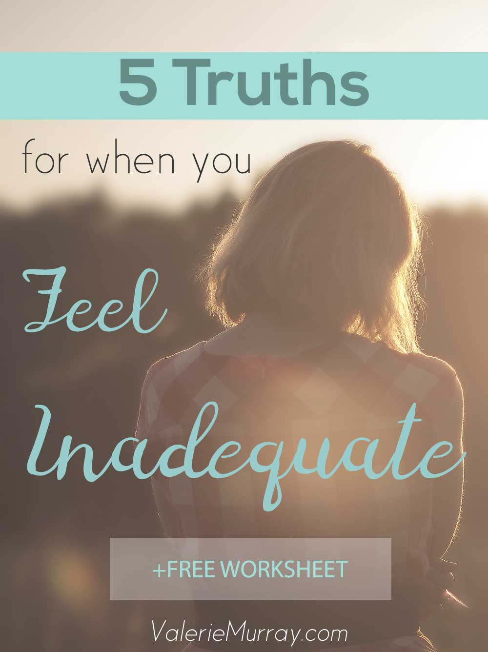 Do you feel inadequate to serve the Lord when He's tugging on your heart? Here are 5 important truths to remember when you second guess God's call.