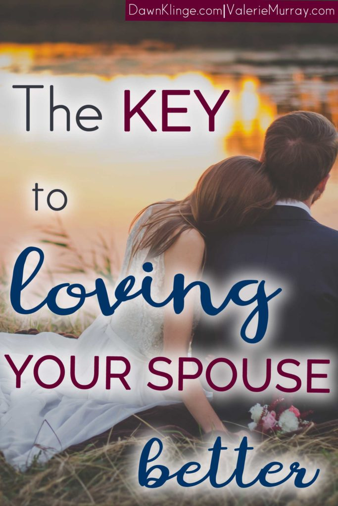 Do you long to love your spouse better? Discover the simple key that can transform your marriage and help you love your spouse.