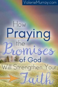 Has anyone ever broken a promise to you? Broken promises make trusting hard, don't they? Perhaps broken promises have scarred your heart and you find yourself having a hard time trusting the promises of God. God will never break His promises! Praying the promises of God will strengthen your faith!