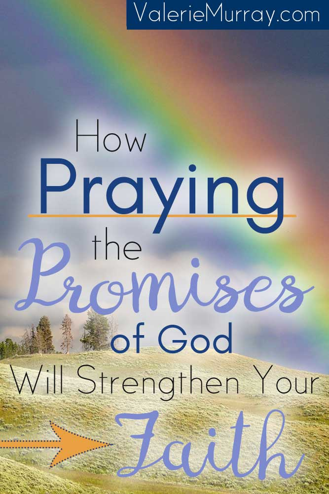 Has anyone ever broken a promise to you? Perhaps broken promises have scarred your heart and you find yourself having a hard time trusting the promises of God. God will never break His promises! Learn how praying the promises of God will strengthen your faith!