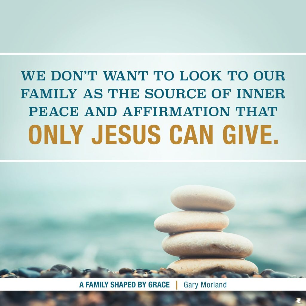 Do you want get along with well with the people who matter most in your life? A Family Shaped By Grace will inspire you to love others with generous grace.