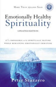 In Emotionally Healthy Spirituality, Peter Scazzero encourages readers to embrace ourselves as whole people. This includes our emotional, spiritual, physical, intellectual and social components.