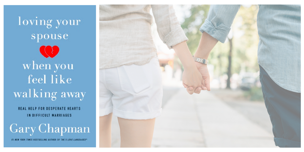 In Loving Your Spouse When You Feel Like Walking Away, author Gary Chapman talks about how to deal with a spouse who is irresponsible; a workaholic; controlling; uncommunicative; verbally, physically, or sexually abusive; unfaithful; depressed; or substance abuser.