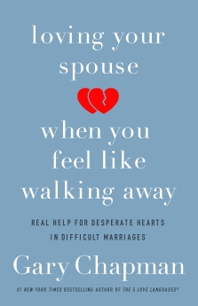In Loving Your Spouse When You Feel Like Walking Away, author Gary Chapman talks about how to deal with a spouse who is irresponsible; a workaholic; controlling; uncommunicative; verbally, physically, or sexually abusive; unfaithful; depressed; or substance abuser. #marriage #marriagehelp #abuse #marriagerestoration #lovingyourspouse #5lovelanguages #garychapman #marriagehelp