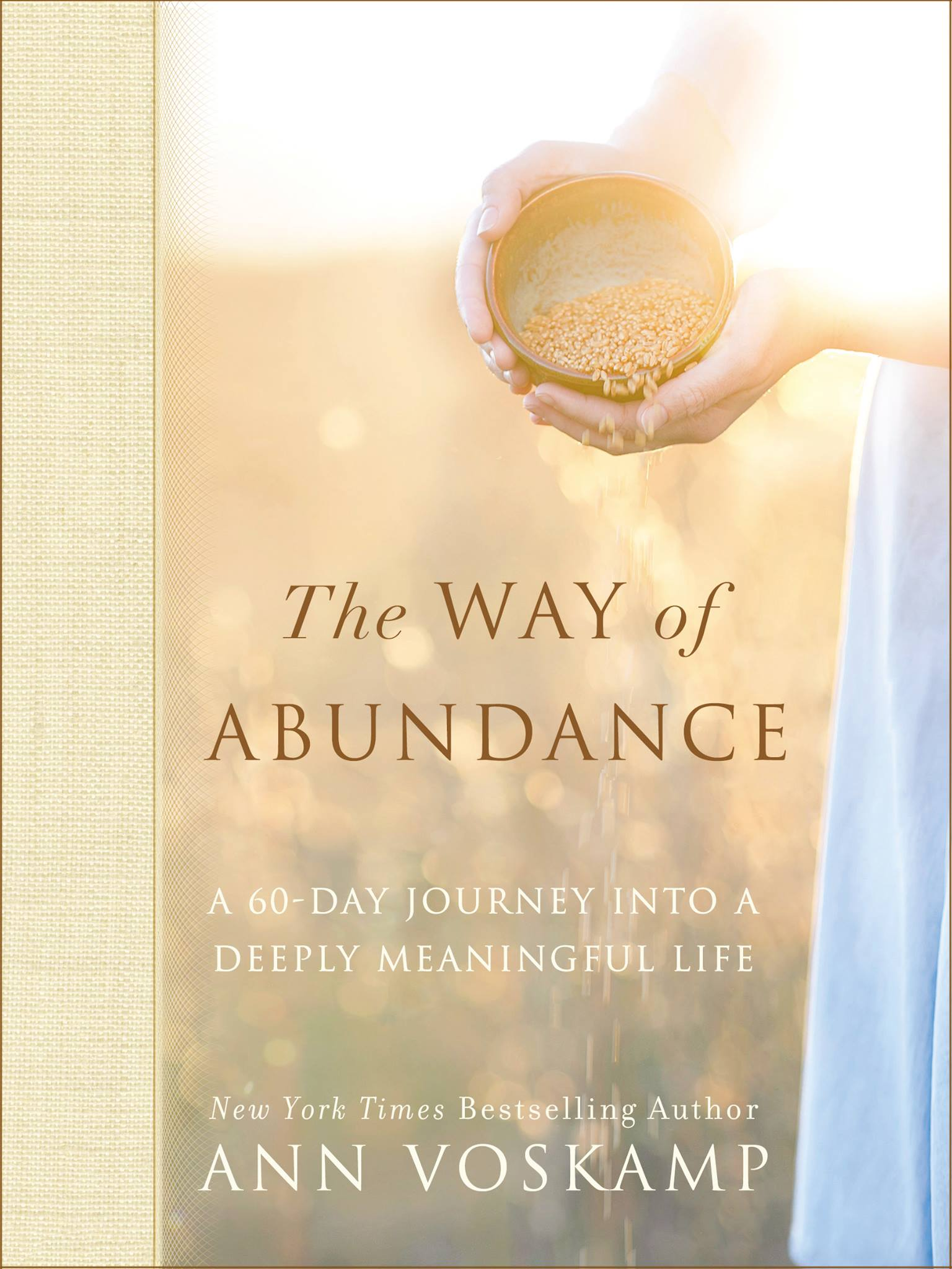 """Die to pride, die to self, die to agendas, die to comfort, die to ease–and your life explodes with abundant life. Unexpectedly, the secret to abundance is not about self–but about dying to self."" The Way of Abundance by Ann Voskamp will help you discover, the way to abundant life is living cruciform."