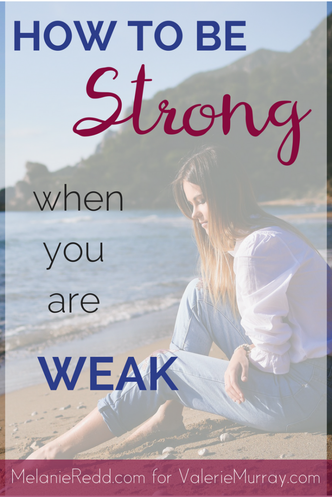 Do you feel weak, powerless, and weary? These 7 Bible verses will help you be strong when you are weak.