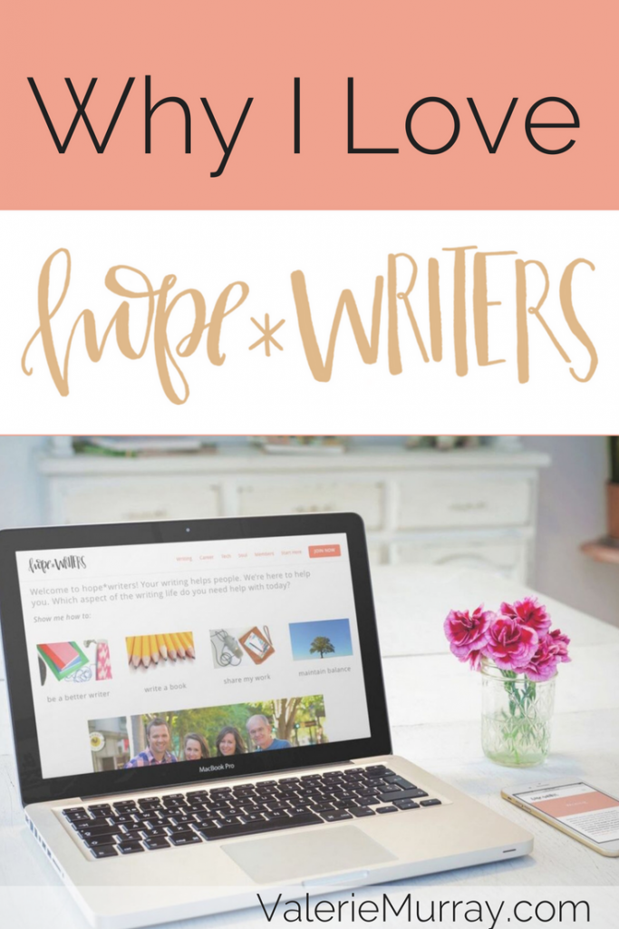Find out why I love hope*WRITERS and how it has helped me grow as a writer.
