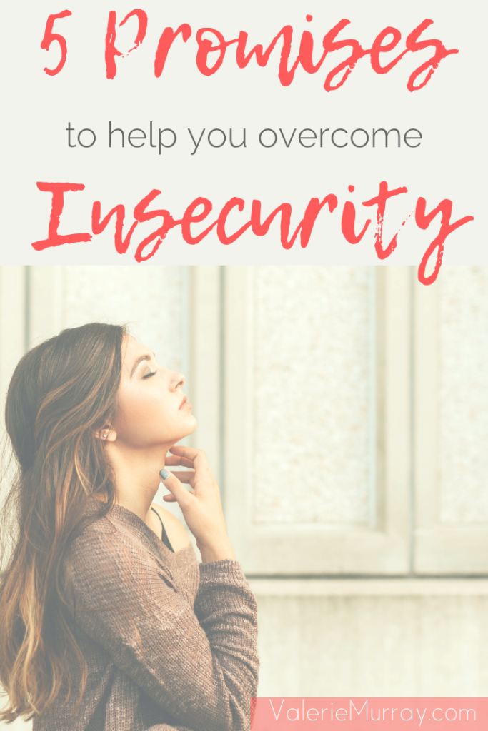 Do you ever feel like the least capable one? You aren't alone! Even Gideon struggled with fear and doubt. Here are 5 promises to help you overcome insecurity.