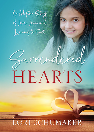 In Surrendered Hearts, Lori Schumaker shares the miraculous journey of adopting her daughter Selah from Bulgaria. Lori discovered that learning to trust meant surrendering her version of how the story should unfold.